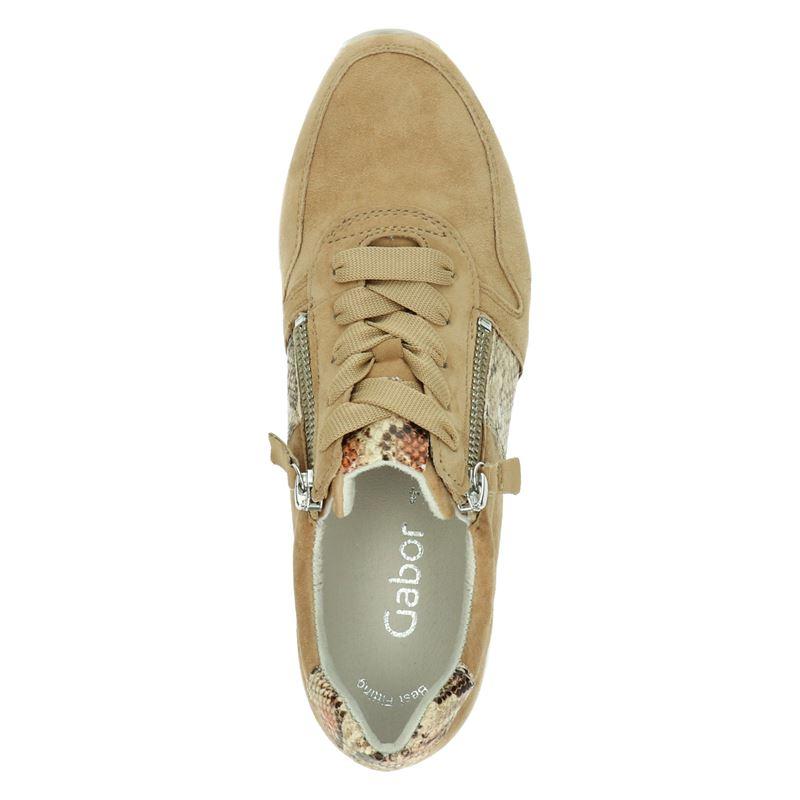 Gabor - Lage sneakers - Cognac