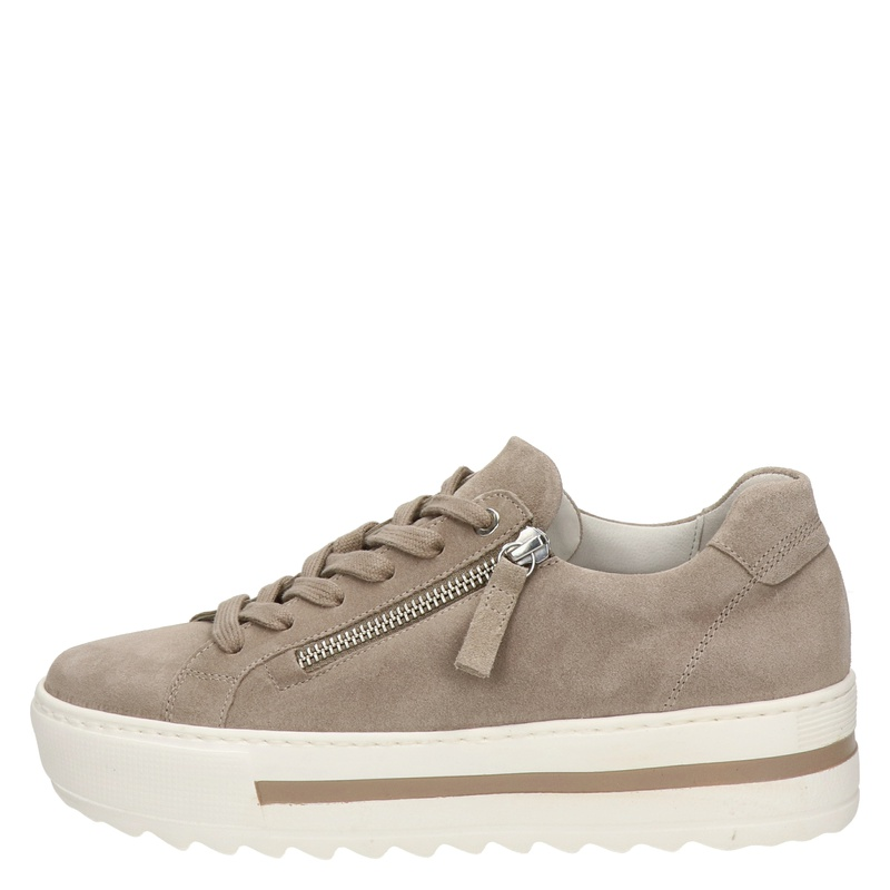 Gabor - Lage sneakers - Beige