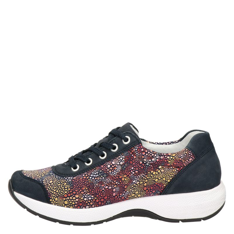 Remonte - Lage sneakers - Blauw