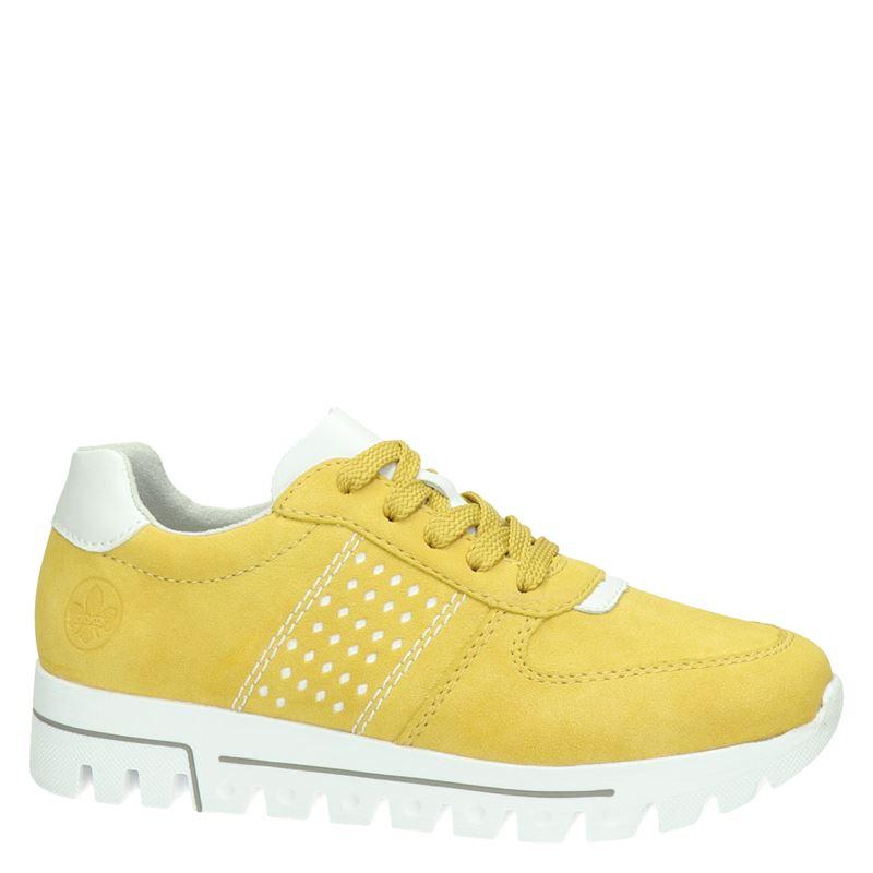 Rieker - Lage sneakers - Geel
