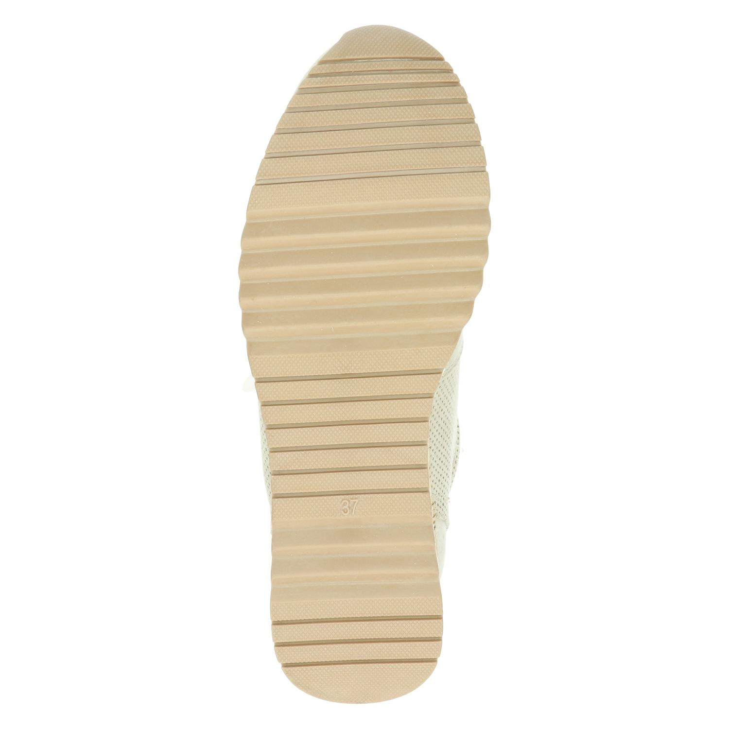 Marco Tozzi - Lage sneakers voor dames - Taupe xCo9zbr