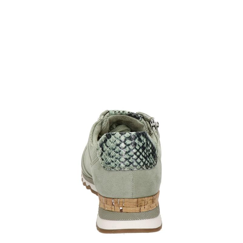 Marco Tozzi - Lage sneakers - Groen