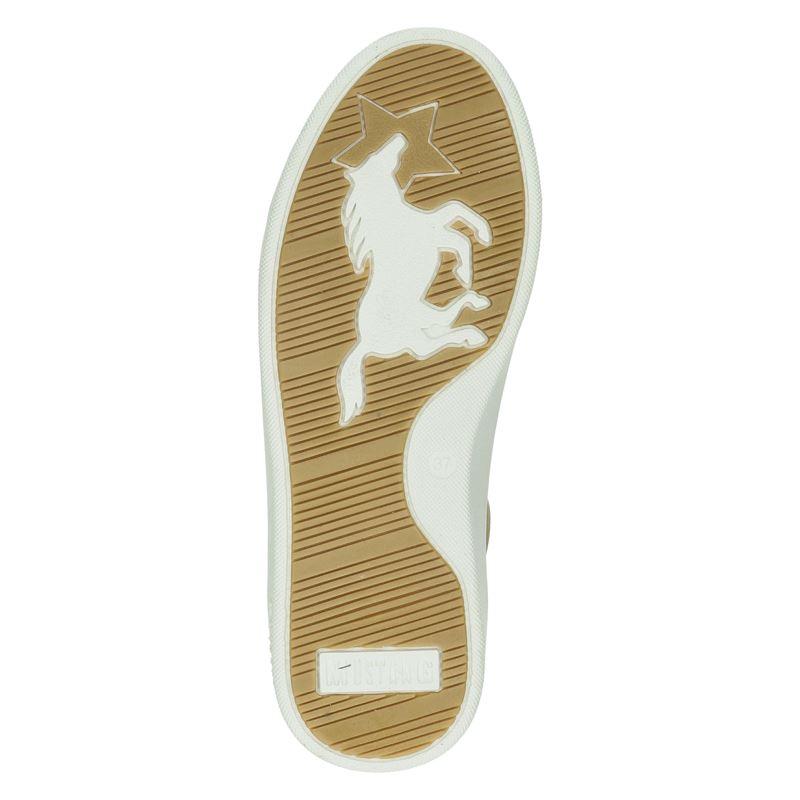 Mustang - Lage sneakers - Geel