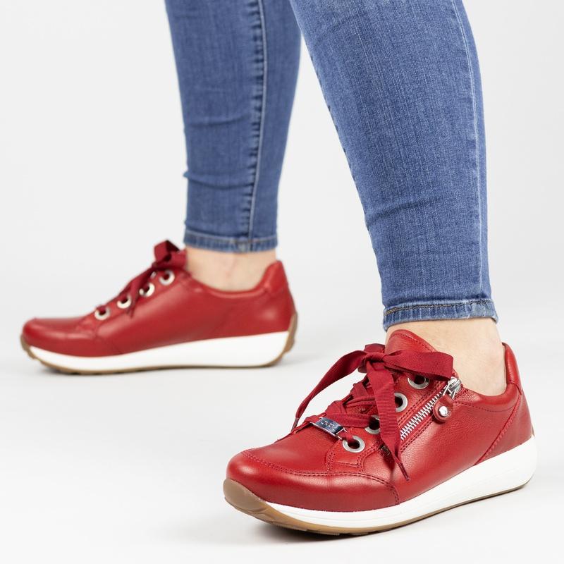 Ara Osaka High Soft - Lage sneakers - Rood