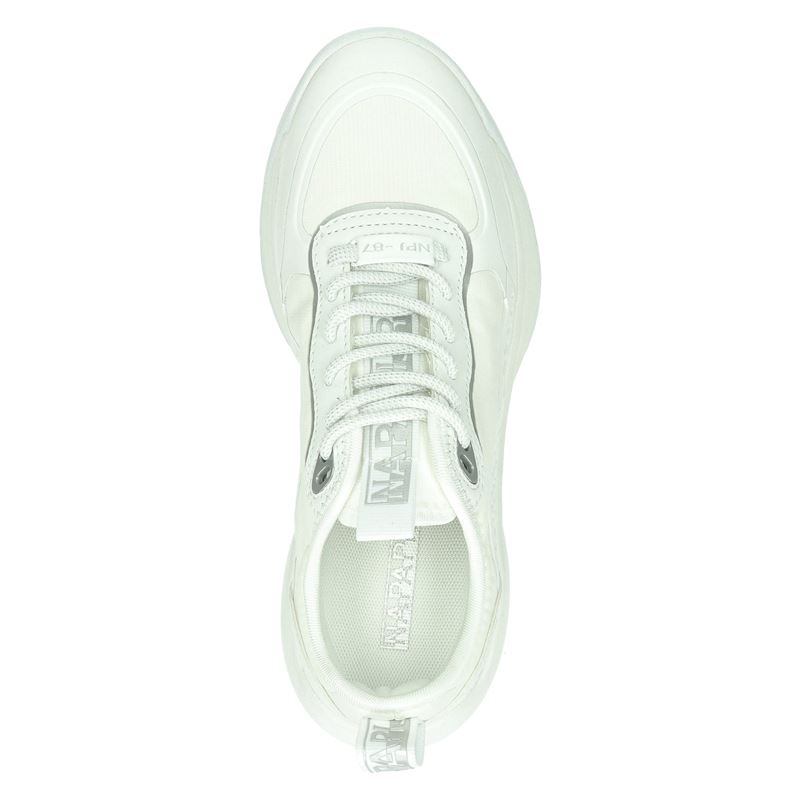 Napapijri Flint - Lage sneakers - Wit