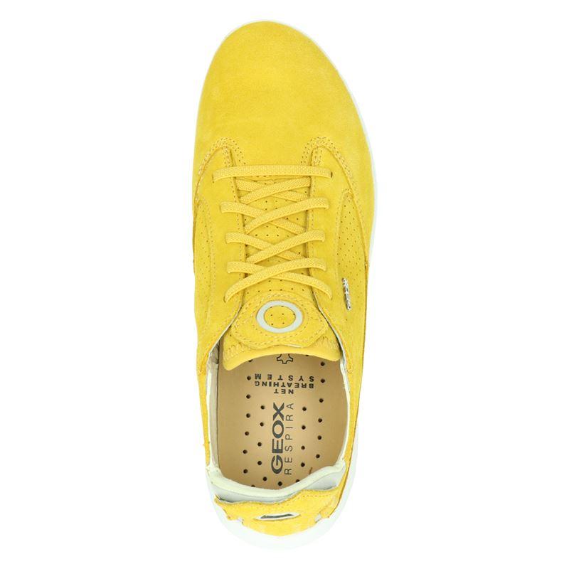 Geox D Aerantis - Lage sneakers - Geel
