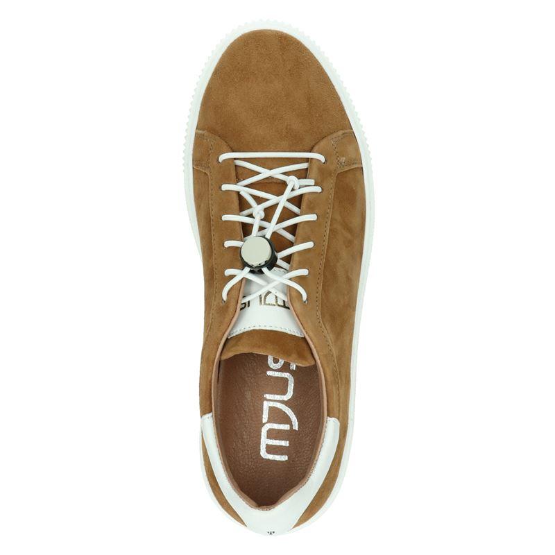 Mjus - Lage sneakers - Cognac