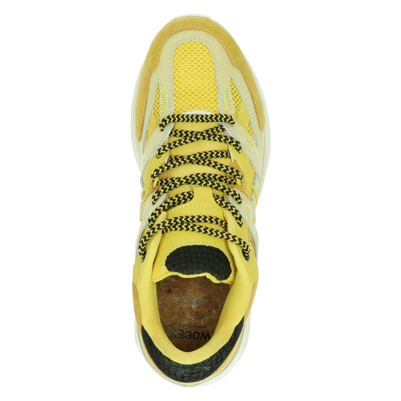 Woden Eve - Lage sneakers - Geel