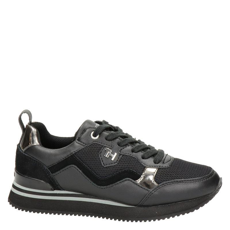 Tommy Hilfiger Sport Feminine Ative City - Lage sneakers - Zwart