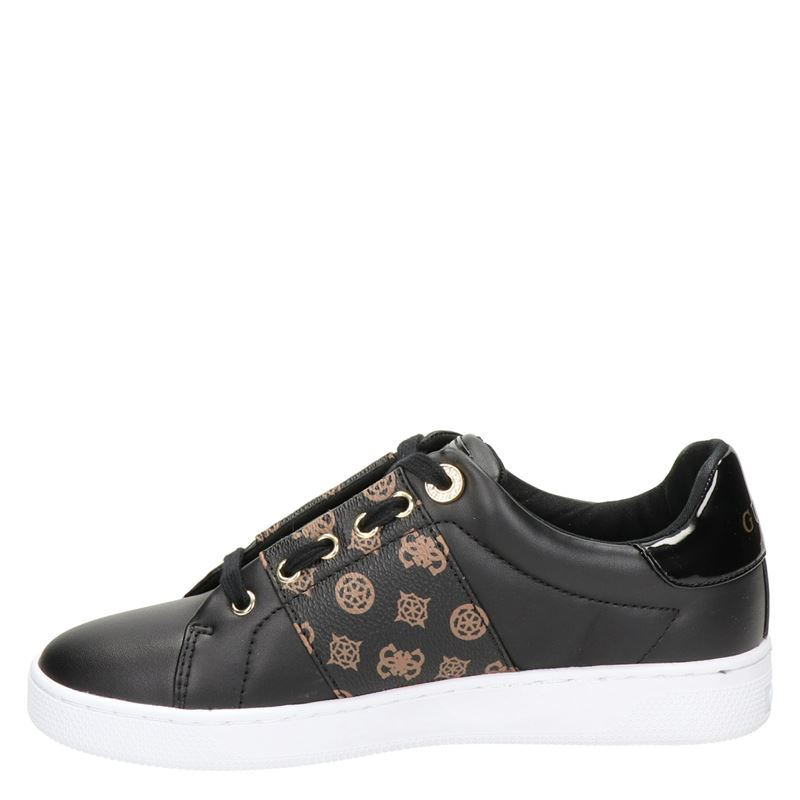 Guess Rejeen - Lage sneakers - Zwart