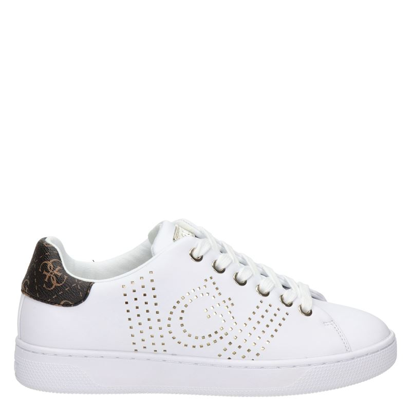 Guess Ranvo - Lage sneakers - Wit