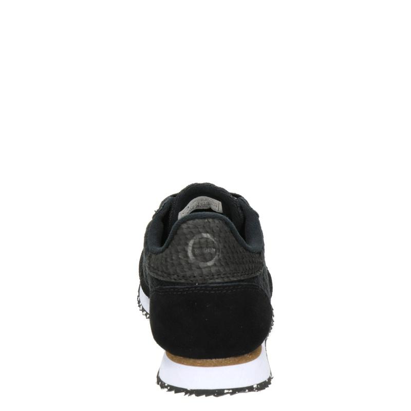 Woden Ydun Mesh II - Lage sneakers - Zwart