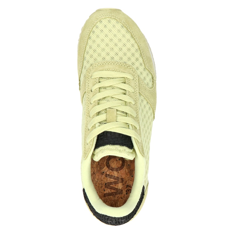 Woden Ydun Mesh II - Lage sneakers - Geel