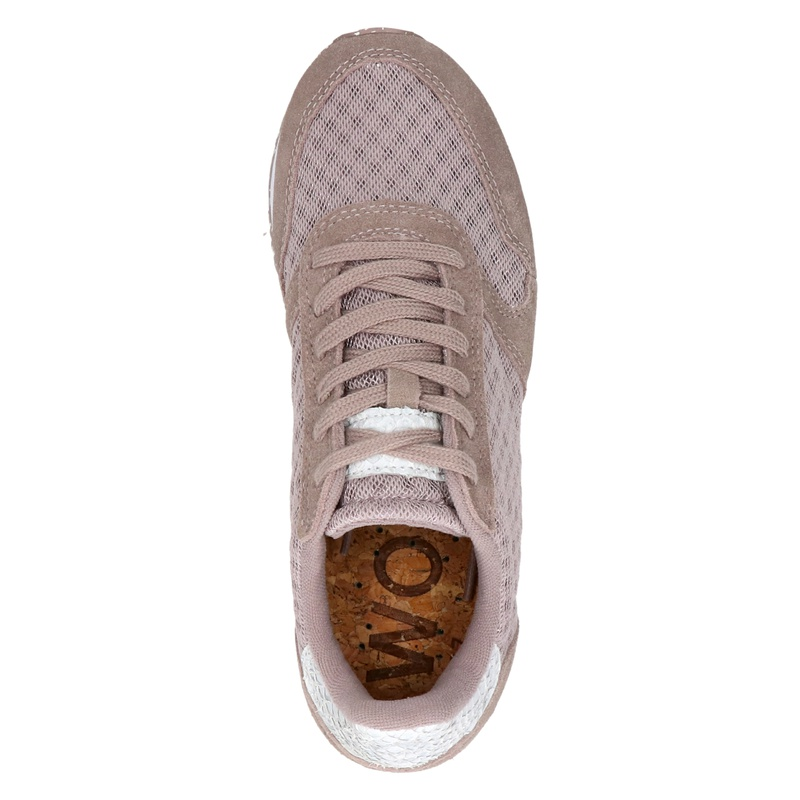 Woden Ydun Mesh II - Lage sneakers - Taupe