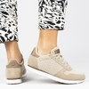 Woden Ydun Mesh II - Lage sneakers - Beige