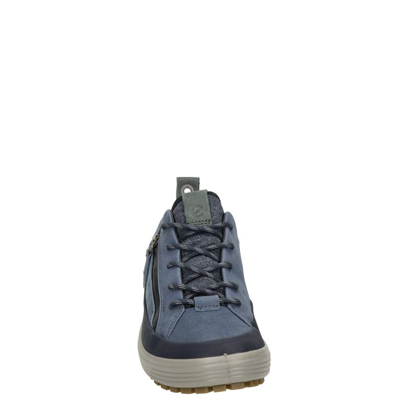 Ecco Soft 7 Tred - Lage sneakers - Blauw