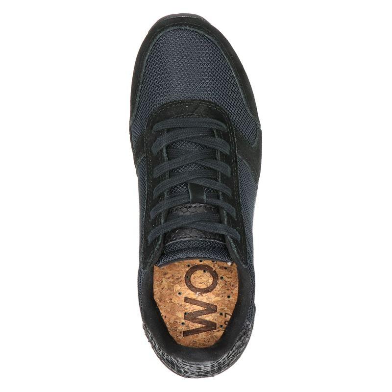 Woden Ydun Fifty - Lage sneakers - Zwart