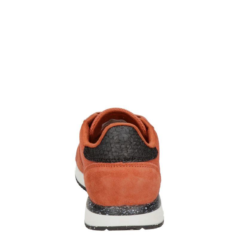 Woden Ydun Fifty - Lage sneakers - Oranje