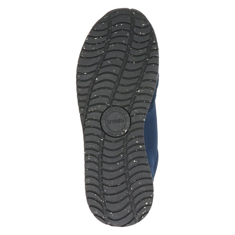 Woden Ydun Fifty - Lage sneakers - Blauw