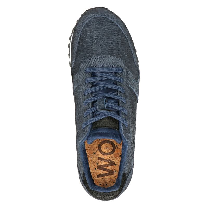 Woden Ydun pearl II - Lage sneakers - Blauw