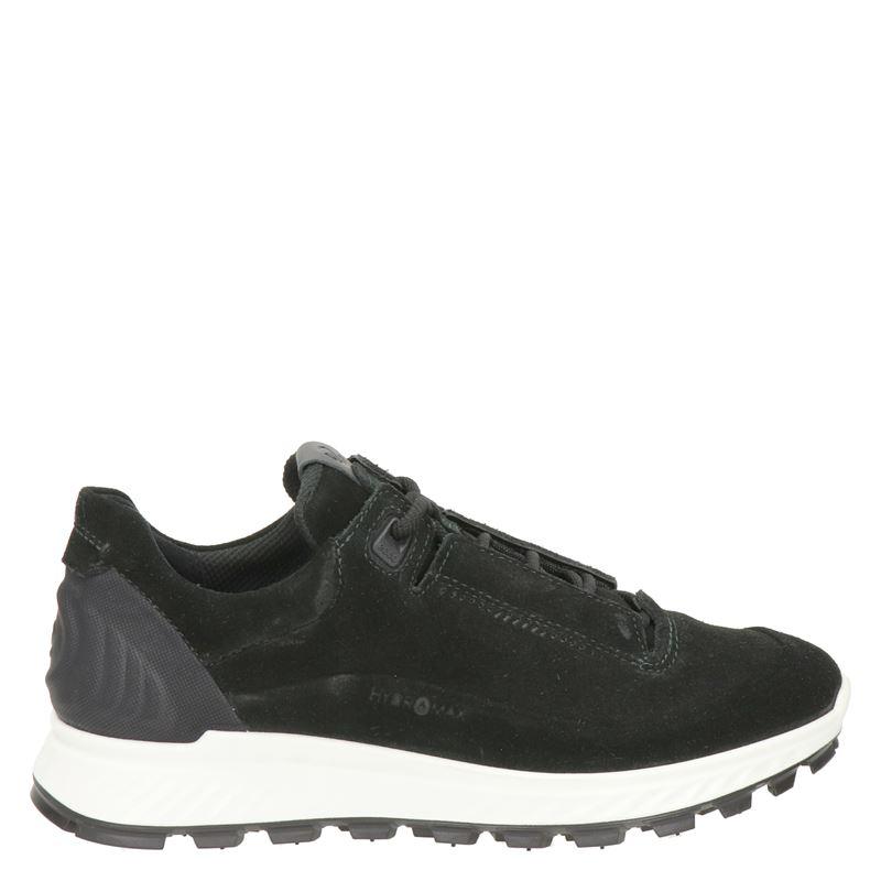 Ecco Exostrike suède sneakers zwart online kopen