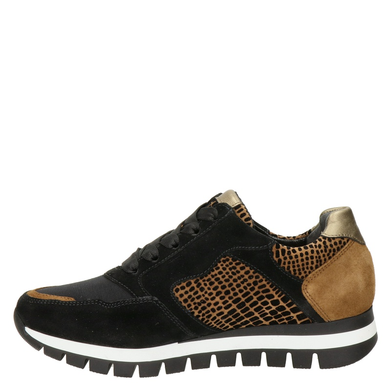 Gabor - Lage sneakers - Zwart