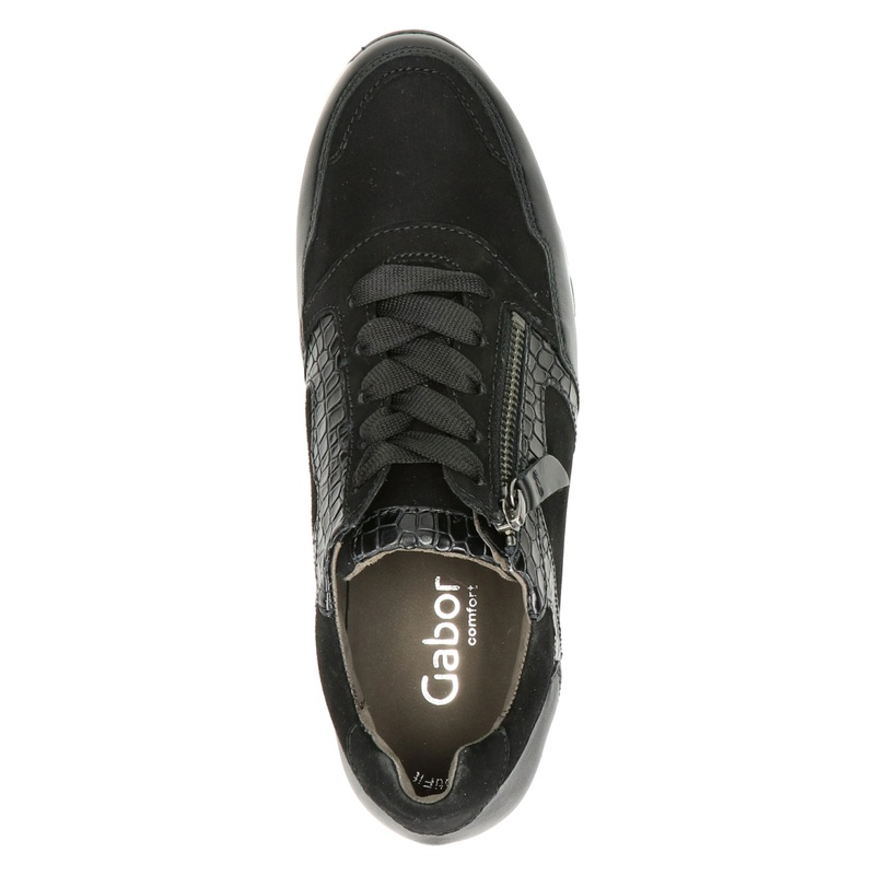 Gabor 438 - Lage sneakers - Zwart