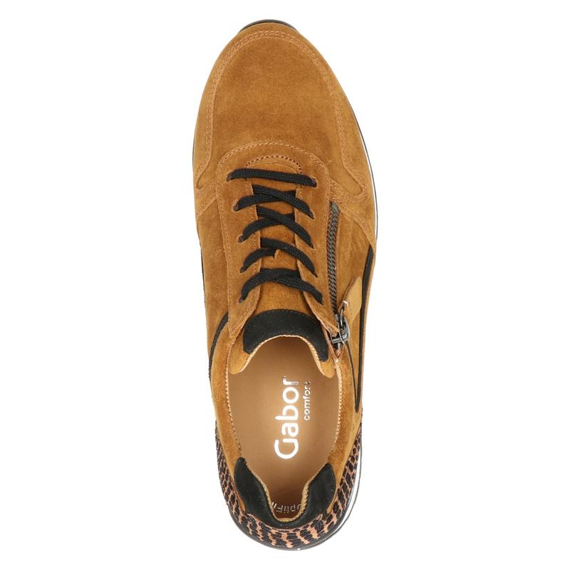 Gabor 526 - Lage sneakers - Cognac