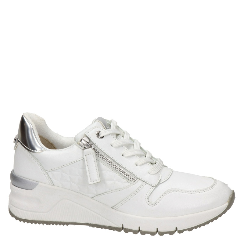 Tamaris - Lage sneakers - Wit