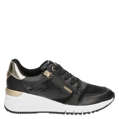 Tamaris - Lage sneakers - Zwart