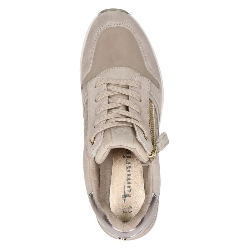 Tamaris - Lage sneakers - Taupe