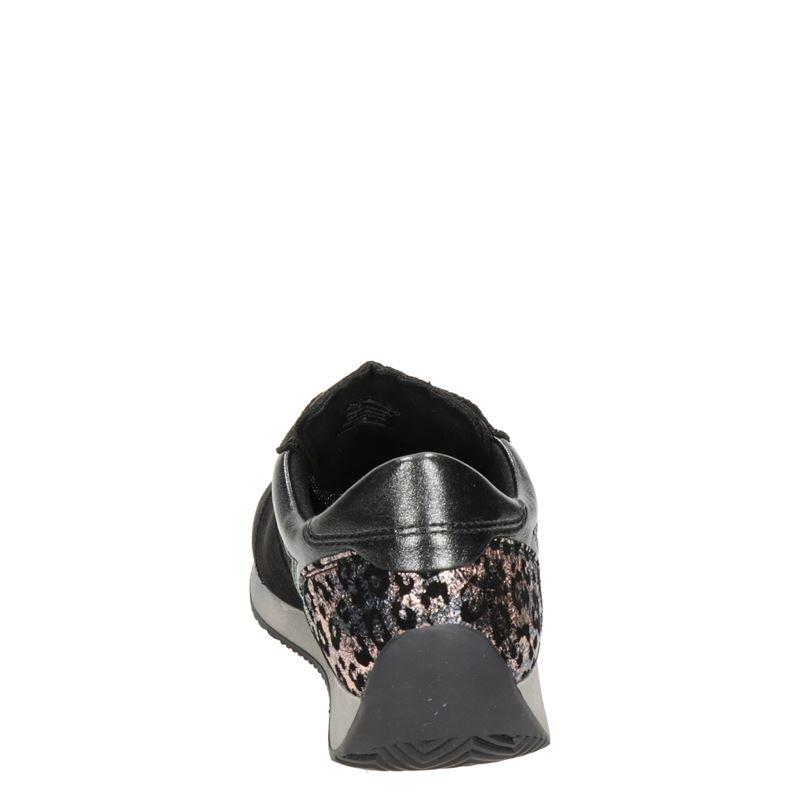 Ara Lissabon Fusion4 - Lage sneakers - Zwart