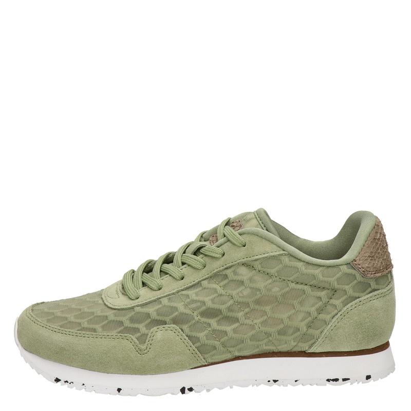 Woden Nora Mesh II - Lage sneakers - Groen
