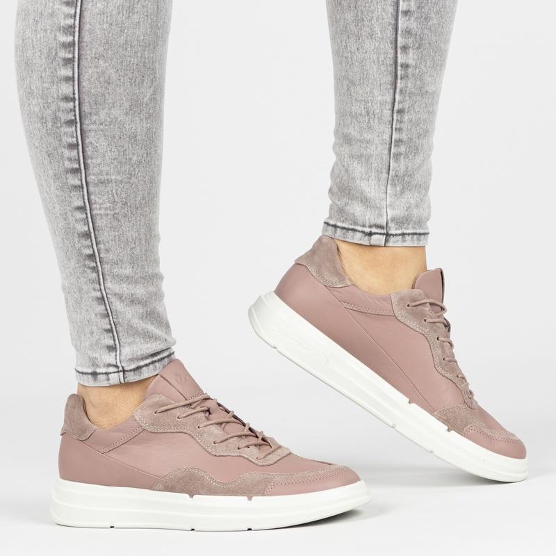 Ecco Soft X - Lage sneakers - Roze