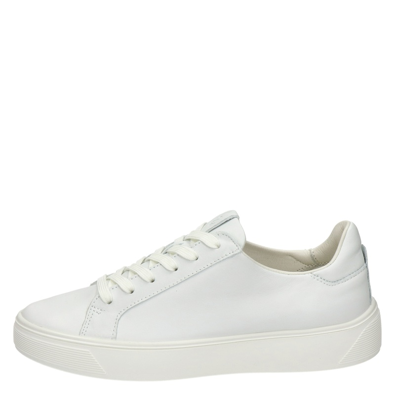 Ecco Street Tray - Lage sneakers - Wit