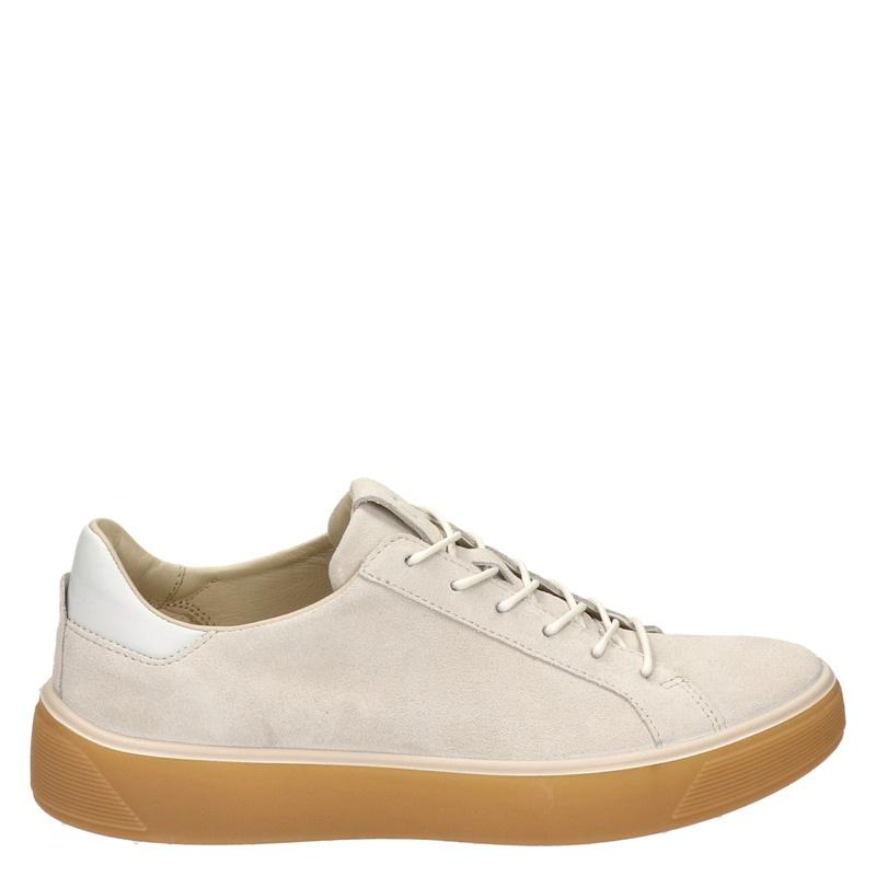 Ecco Street Tray - Lage sneakers - Ecru