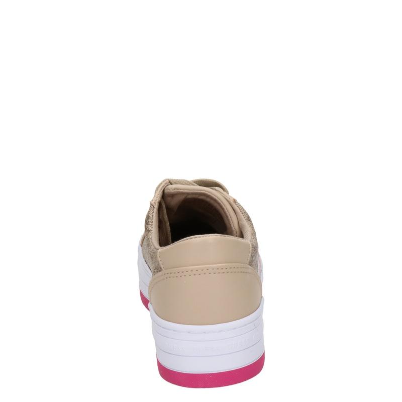 Guess Barona - Platform sneakers - Beige