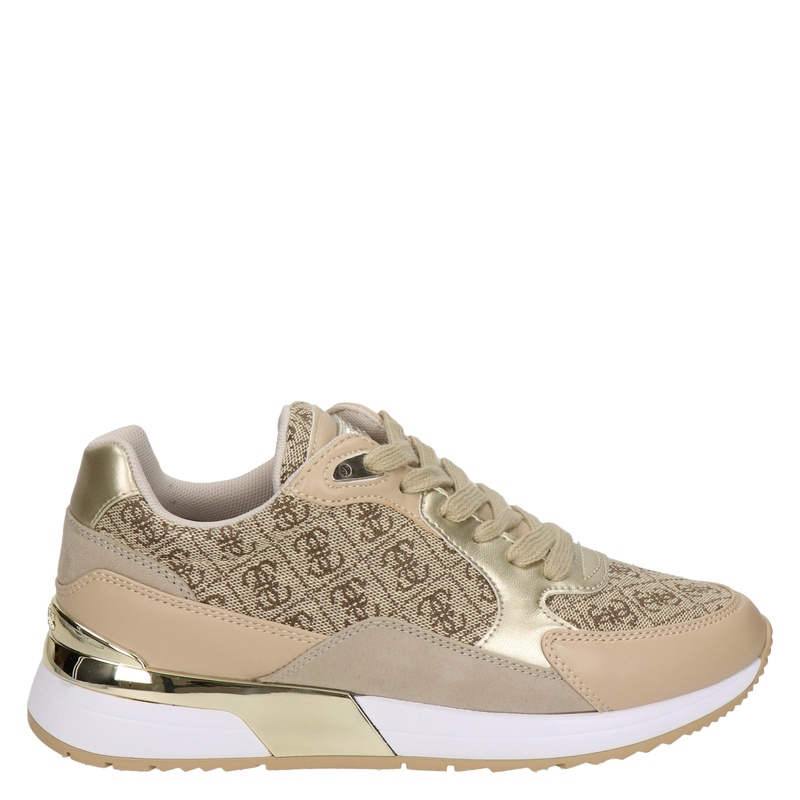 Guess Moxea - Lage sneakers - Beige