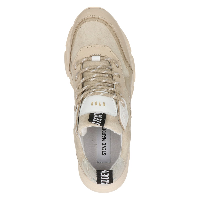 Steve Madden Pitty - Dad Sneakers - Beige