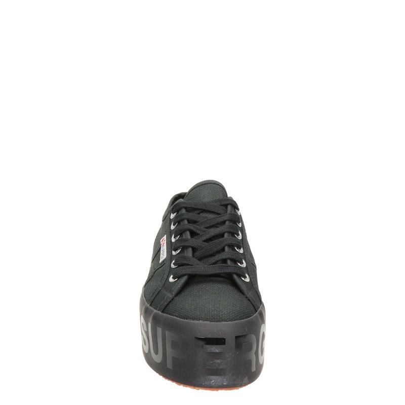 Superga - Platform sneakers - Zwart