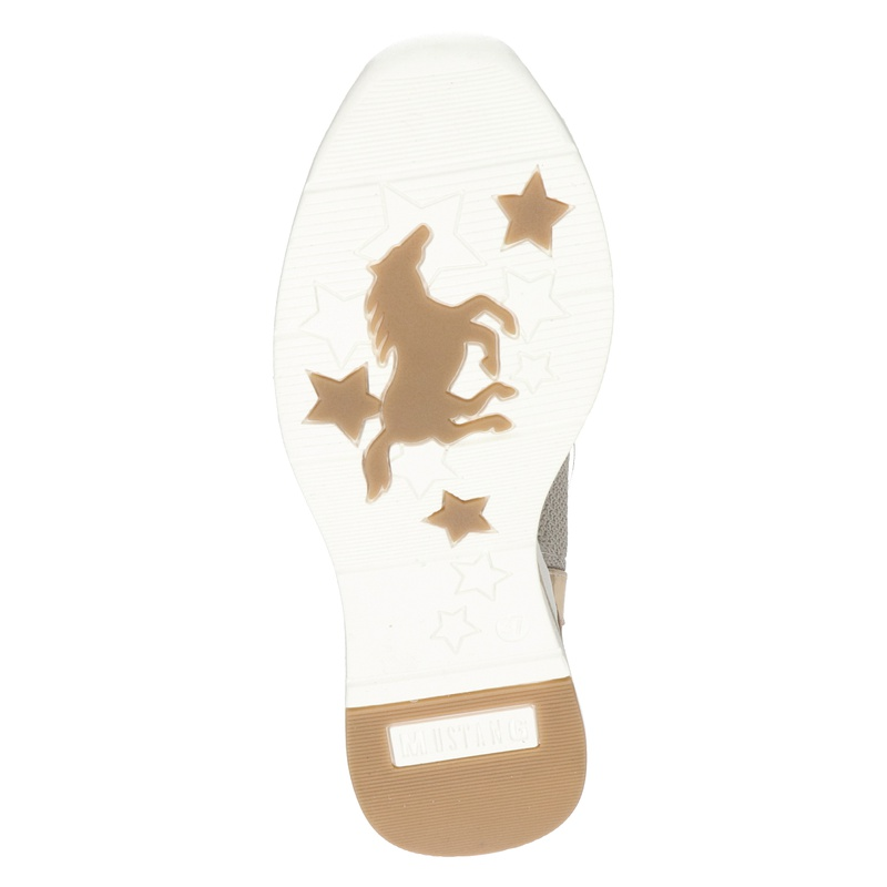 Mustang - Lage sneakers - Beige