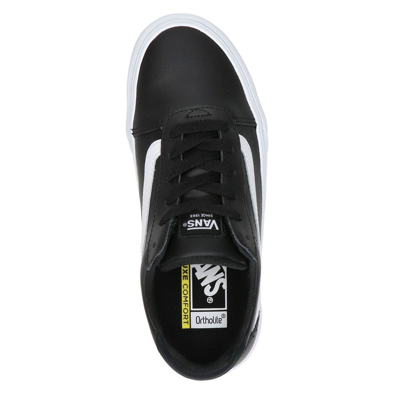 Vans Ward Deluxe - Lage sneakers - Zwart