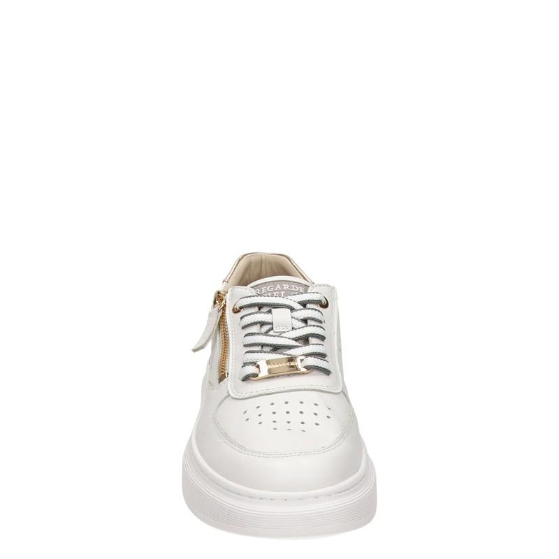 Regarde le ciel Samia - Lage sneakers - Wit