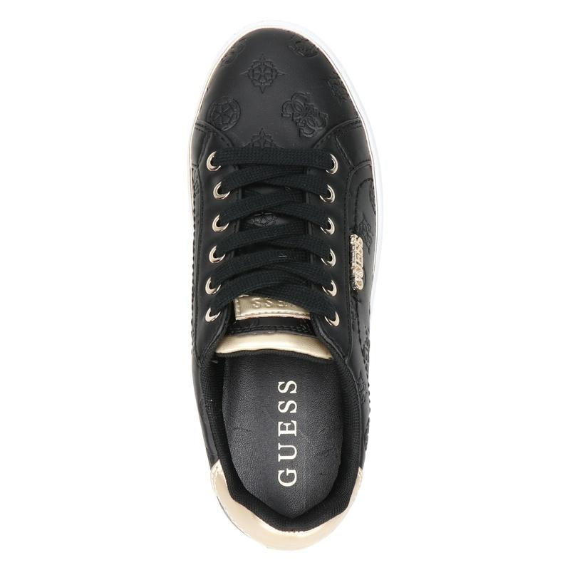 Guess Beckie - Lage sneakers - Zwart