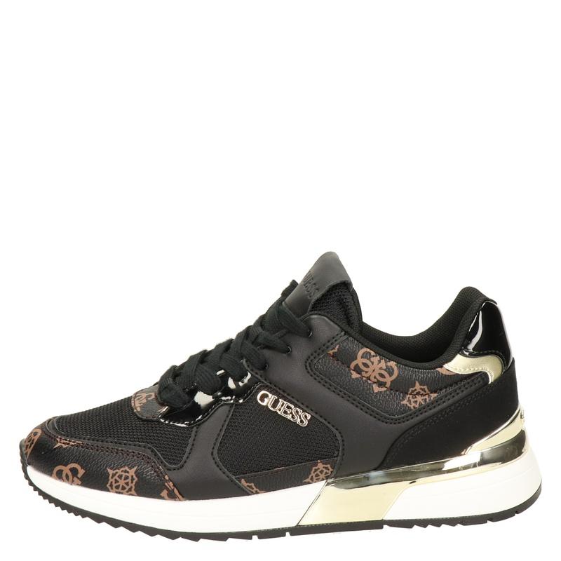 Guess Maybel - Lage sneakers - Zwart
