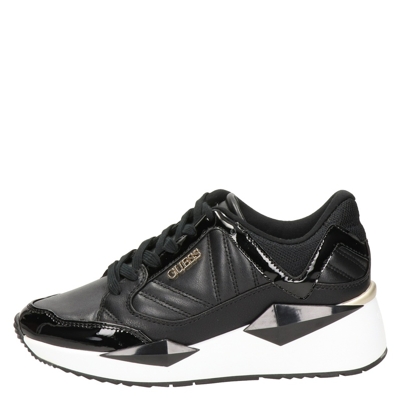 Guess Traves Active Lady - Lage sneakers - Zwart