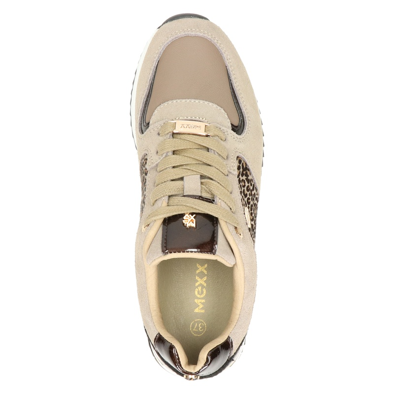Mexx Fleur - Lage sneakers - Taupe