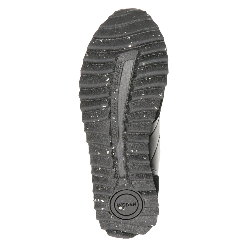 Woden Nora - Lage sneakers - Zwart