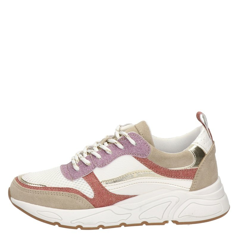 Nelson - Dad Sneakers - Wit