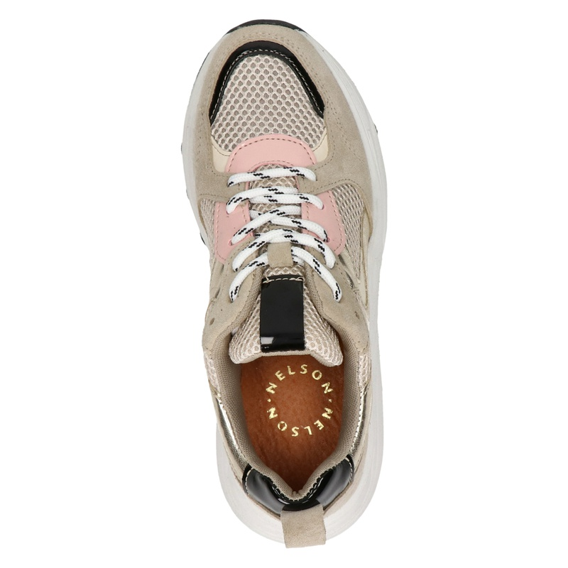 Nelson - Dad Sneakers - Beige
